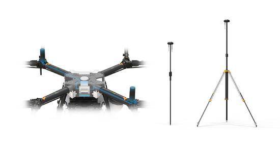 而以往的rtk无人机需要自建rtk基站,以此来校准,但对于拥有多台