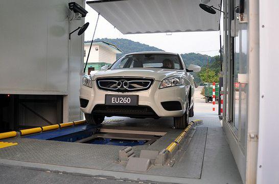 广州首座北汽新能源纯电动汽车换电站启动