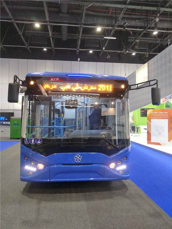银隆亮相迪拜交通展  加速拓展海外市场