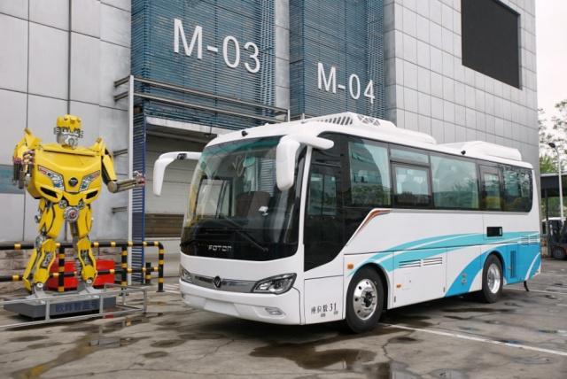 亿华通、福田、丰田合作氢燃料电池车 中国氢燃料电池即将起飞?