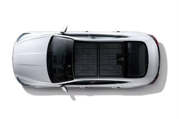 现代索纳塔Hybrid将配置太阳能电池板