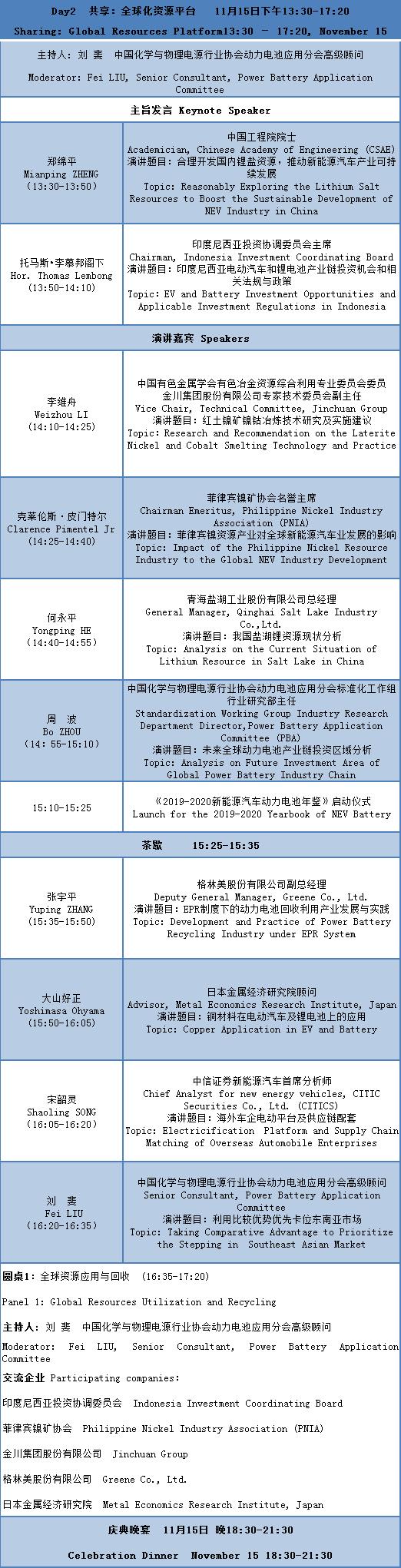CBIS2019大会议程及部分参会企业名单公布