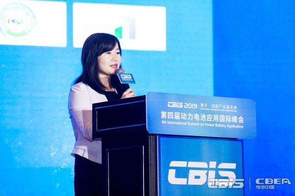 中國化學與物理電源行業協會動力kok體育app官網下載應用分會秘書長張雨主持會議
