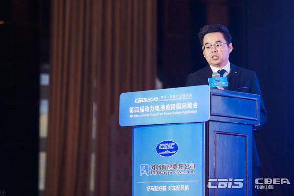 星恒電源趙成龍:車用復合錳酸鋰kok體育app官網下載的技術