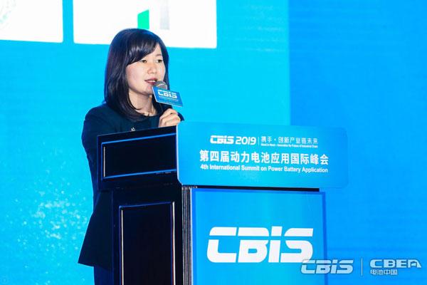 中國化學與物理電源行業協會動力kok體育app官網下載應用分會秘書長張雨主持開幕式