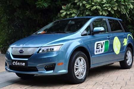 广州新能源汽车消费调查 比亚迪两款车可售 秦 好命 e6遇冷高清图片